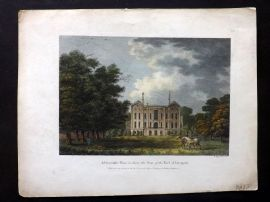 Angus 1815 HC Print. Addescombe Place, Surrey, the Seat of the Earl of Liverpool